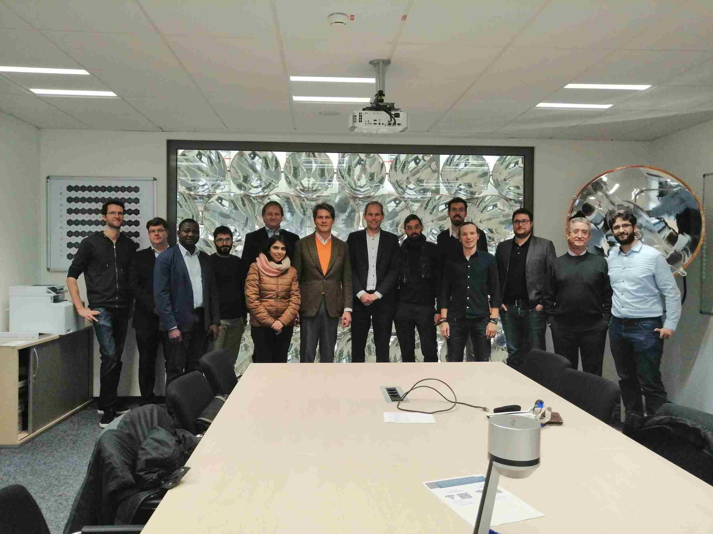 Members of the SUN-to-LIQUID project consortium
