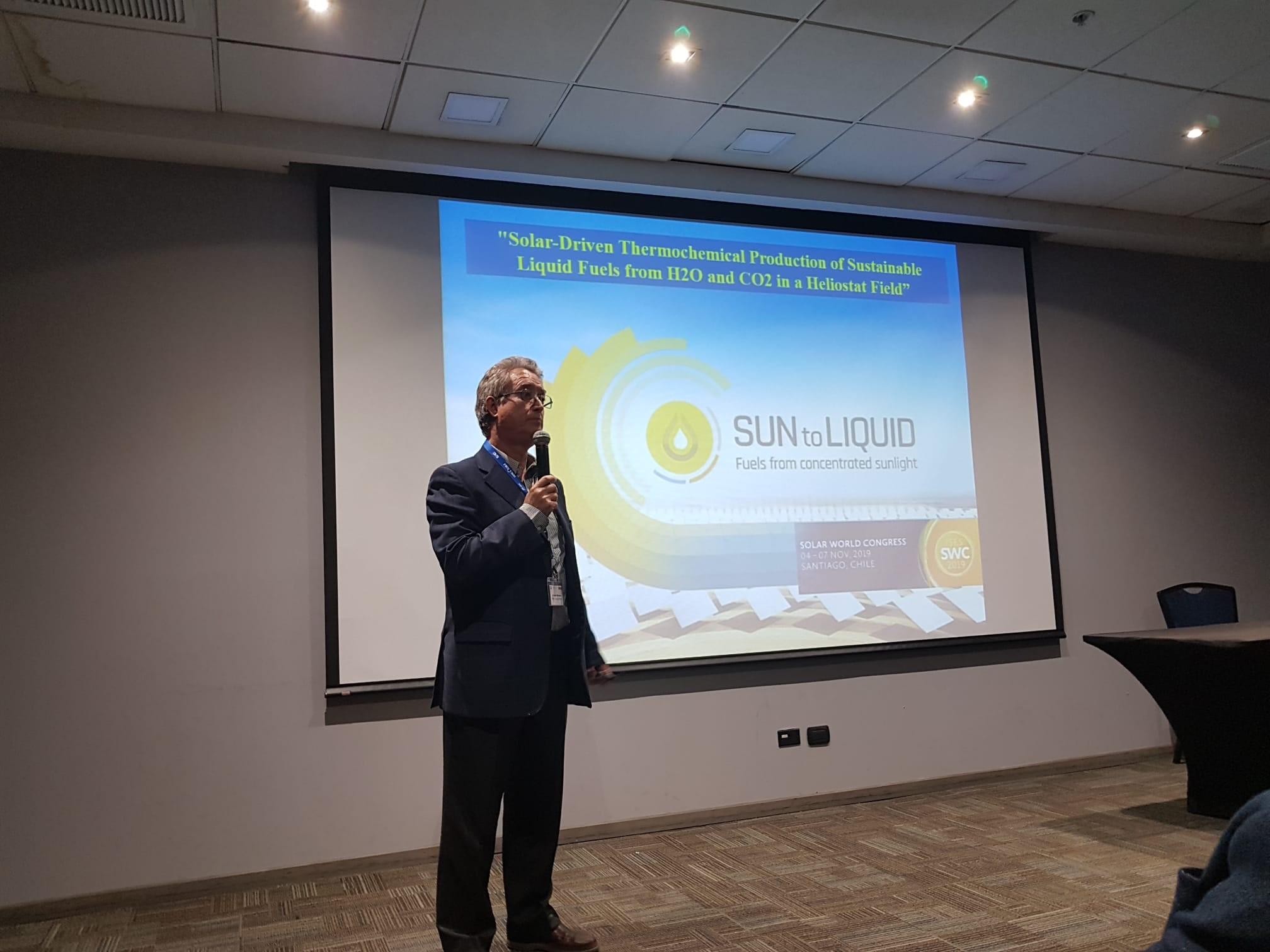 MRomero at Solar World Congress 2019 in Chile